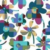 Elegant floral seamless pattern Royalty Free Stock Images