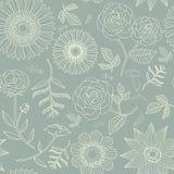Elegant floral seamless pattern Stock Image