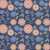 Elegant floral seamless pattern Stock Photography