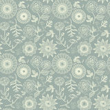 Elegant floral seamless pattern Royalty Free Stock Photography