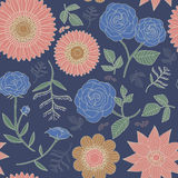Elegant floral seamless pattern Royalty Free Stock Image