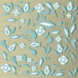 Elegant floral vintage background. Vector eps10 illustration stock illustration