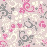Elegant floral vintage seamless pattern background Stock Photo