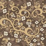 Elegant floral vintage seamless pattern background for your design Royalty Free Stock Photography