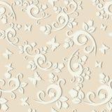 Elegant floral vintage seamless pattern background for your design Stock Image