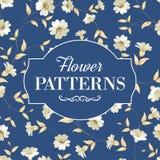 Elegant  flowers fabric. Stock Photography