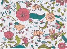 Elegant flowers fancy royalty free stock photos