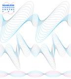 Elegant flowing lines vector background, royal design elements, Stock Images
