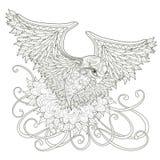 Elegant flying bird Royalty Free Stock Images