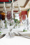 Elegant formal place setting Stock Photography