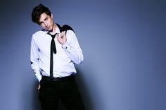 Elegant formal suit Stock Photos