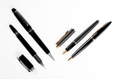 Elegant fountain pen Stock Image