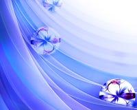 Elegant fractal background royalty free illustration