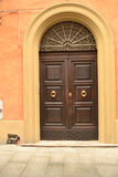 elegant framdel för dörr Royaltyfri Fotografi