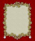 Elegant Frame 1 van de Werveling Stock Afbeelding