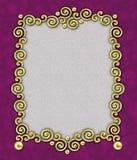 Elegant Frame 3 van de Werveling Stock Foto's