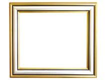 Elegant frame. Classical elegant frame on white background royalty free stock photography