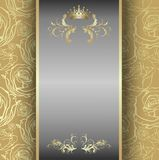 Elegant frame banner Royalty Free Stock Photos