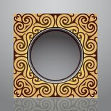 Elegant frame design Royalty Free Stock Images