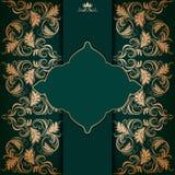 Elegant frame with filigree ornament Royalty Free Stock Photos