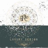Elegant frame or invitation card for design Royalty Free Stock Photography