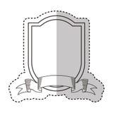 Elegant frame isolated icon Stock Images