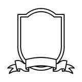 Elegant frame isolated icon Stock Photo