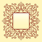 Elegant frame ornament Royalty Free Stock Photos