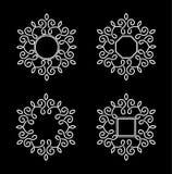 Elegant frame vector design Royalty Free Stock Image