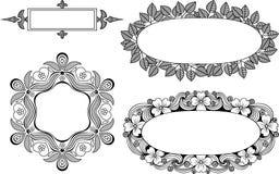 Elegant  frames. Royalty Free Stock Photo