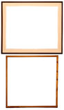 Elegant frames + PATHs 2. Two elegant frames with individual PATHs Royalty Free Stock Photography