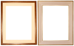 Elegant frames + PATHs Stock Photography