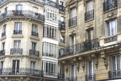 Elegant French Apartments Royalty Free Stock Photography
