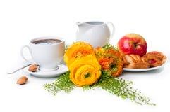 Elegant fresh breakfast Stock Photos