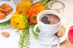 Elegant fresh breakfast Royalty Free Stock Photos