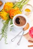 Elegant fresh breakfast Stock Photography