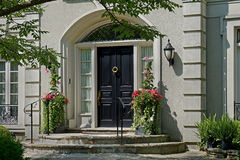 Elegant front door Royalty Free Stock Images