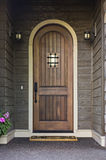 Elegant Front Door of an upscale home Stock Photos