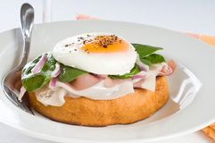 elegant frukost Arkivbilder