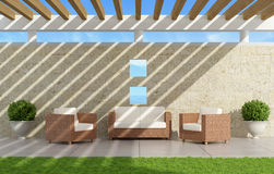 Elegant Garden Stock Images