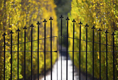 Elegant Gate Royalty Free Stock Photos