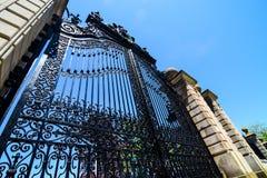 Elegant gateway Stock Photo