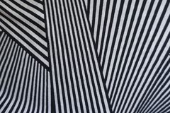 Elegant geometric pattern on fabric. From above stock images