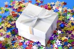 Elegant gift box Stock Image