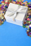 Elegant gift box Royalty Free Stock Photography