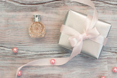Elegant gift box Stock Photography