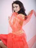 Elegant girl Royalty Free Stock Photography