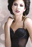 Elegant glamour Stock Images