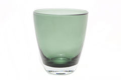 Elegant glass isolated Stock Images