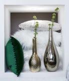 Elegant glass vase Royalty Free Stock Photo